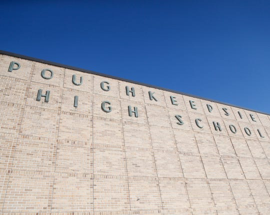 Poughkeepsie High School on February 14, 2019.