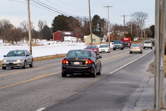 The intersection of Route 30 and Big Mount and Labott roads in Jackson Township has been a problem for years. Transportation planners are looking at realigning the roads and other changes to improve safety.