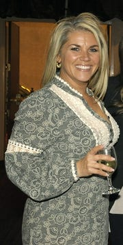 Christi  Quatro at a social event in 2015. Quatro and the Nevada Humane Society are embroiled in a legal dispute over ownership of the Heels and Hounds fundraiser.
