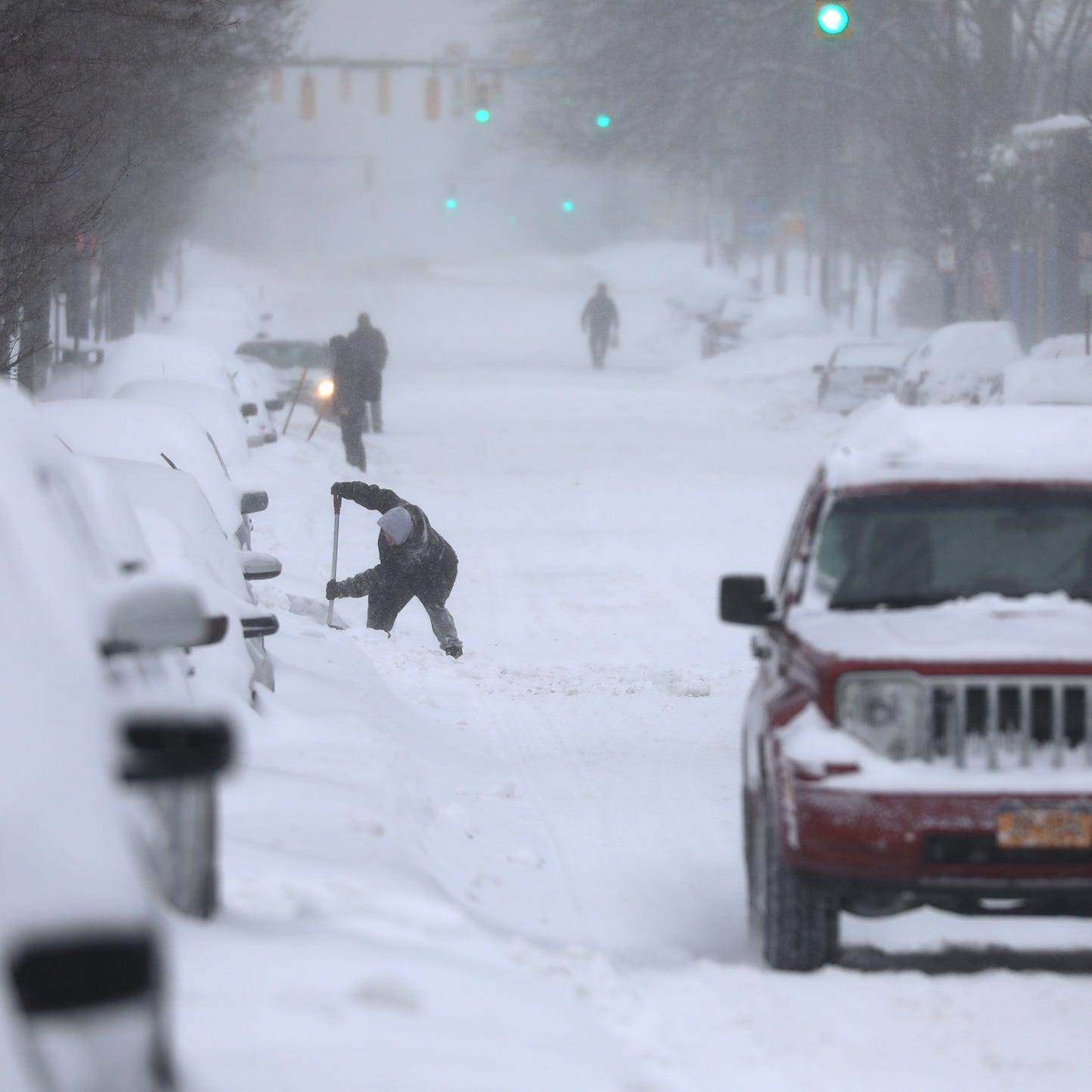 Rochester had a mild winter, but just saying that means a storm could come soon