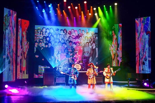 """""""Rain: A Tribute to the Beatles"""" comes to the Auditorium Theatre Thursday, Feb. 21."""