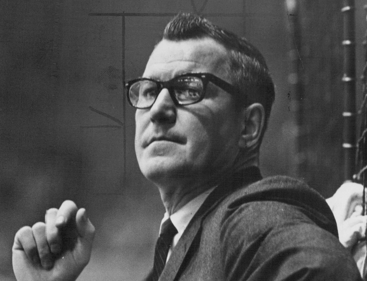 Joe Crozier coached the Rochester Americans from 1963-68, winning three Calder Cups.