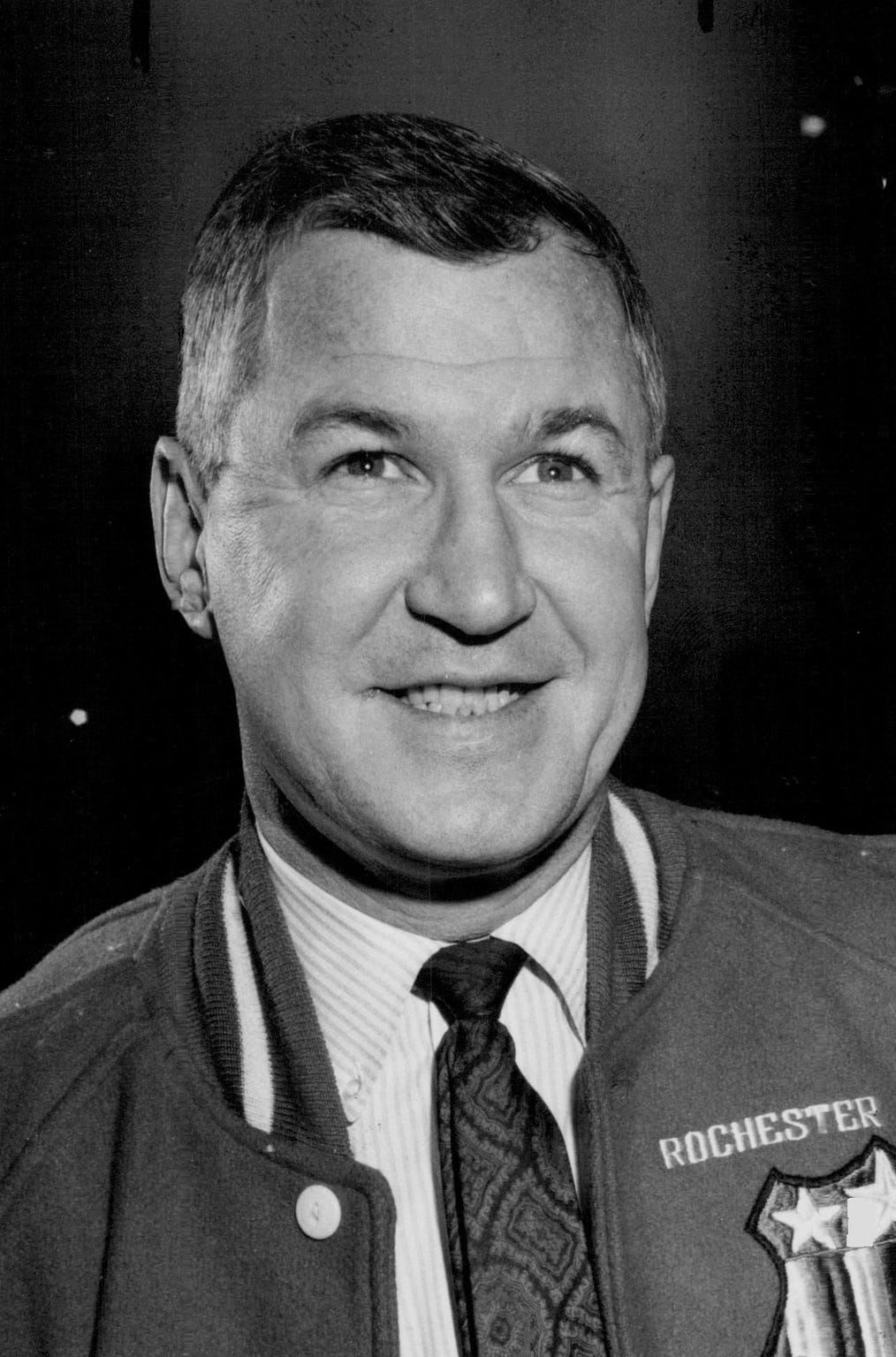 Joe Crozier coached the Rochester Americans to three Calder Cup championships between 1963-68.