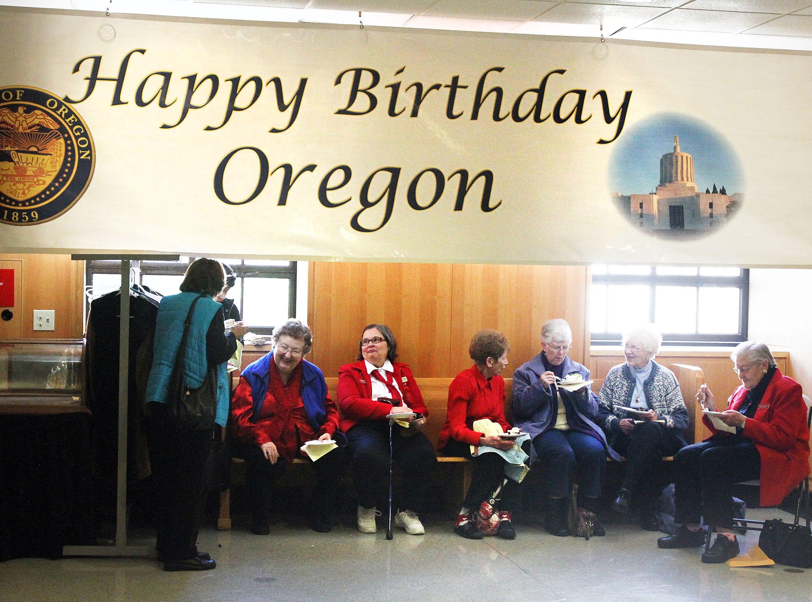 Oregon observes its 154th anniversary of statehood.