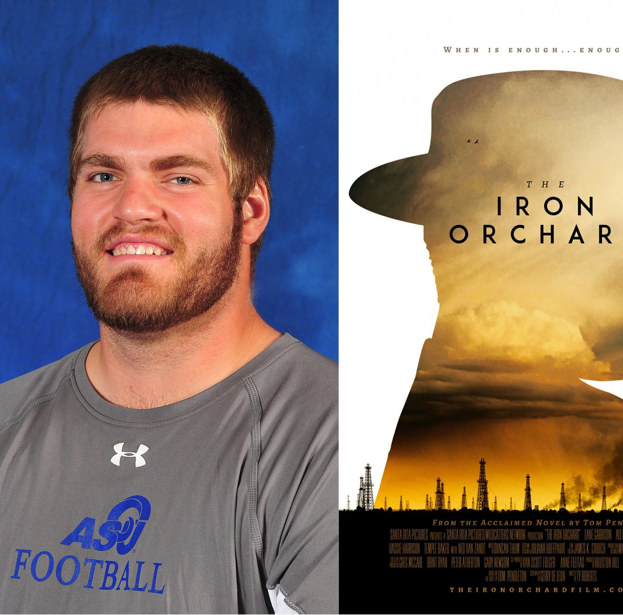 Former Angelo State football player makes acting debut in award-winning movie