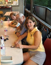 Pictured are Marty and Kit Carson and Kathleen O'Dell.