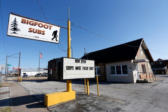 Bigfoot Subs at 2204 W. College St. opened in January.