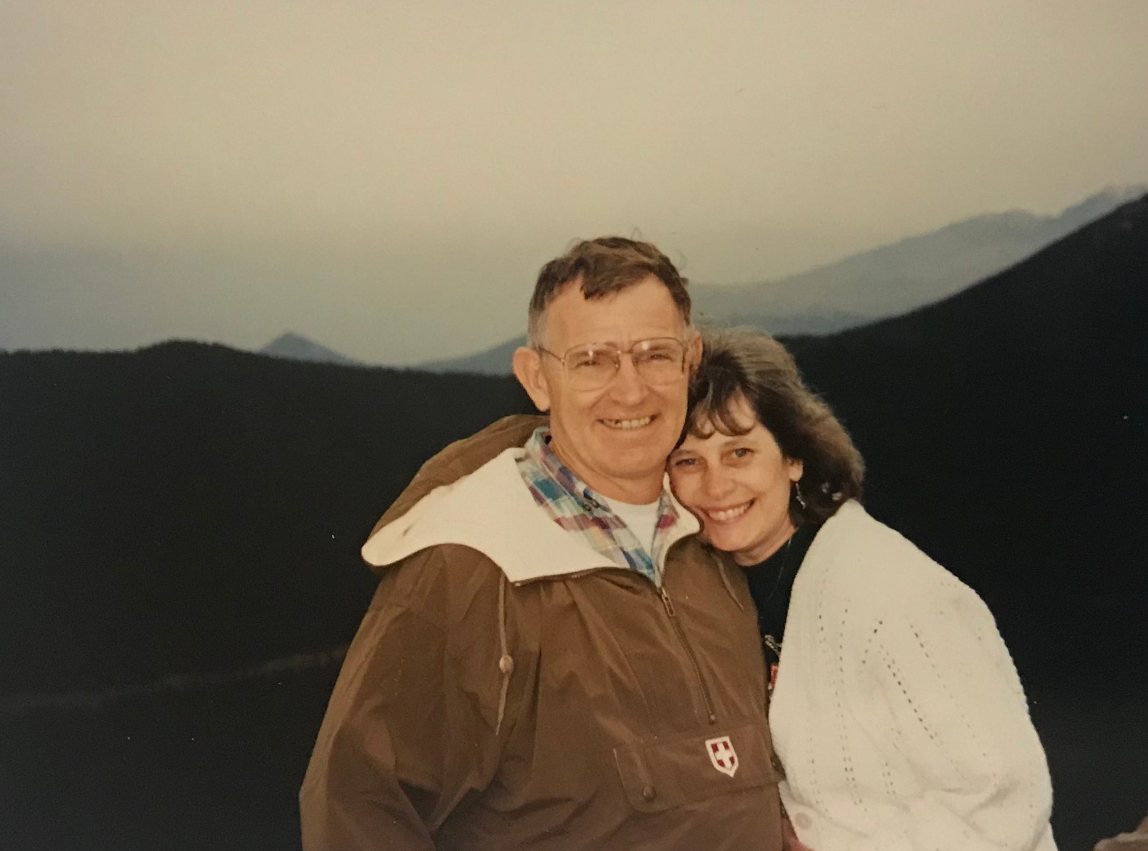 This is Kit and Marty Carson in Colorado back in 1994.