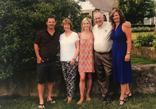 This was taken on a family vacation at Big Cedar Lodge. Pictured from left are Chris Carson, Marty Carson, Wendy Lissau, Kit Carson and Latisha Koetting.