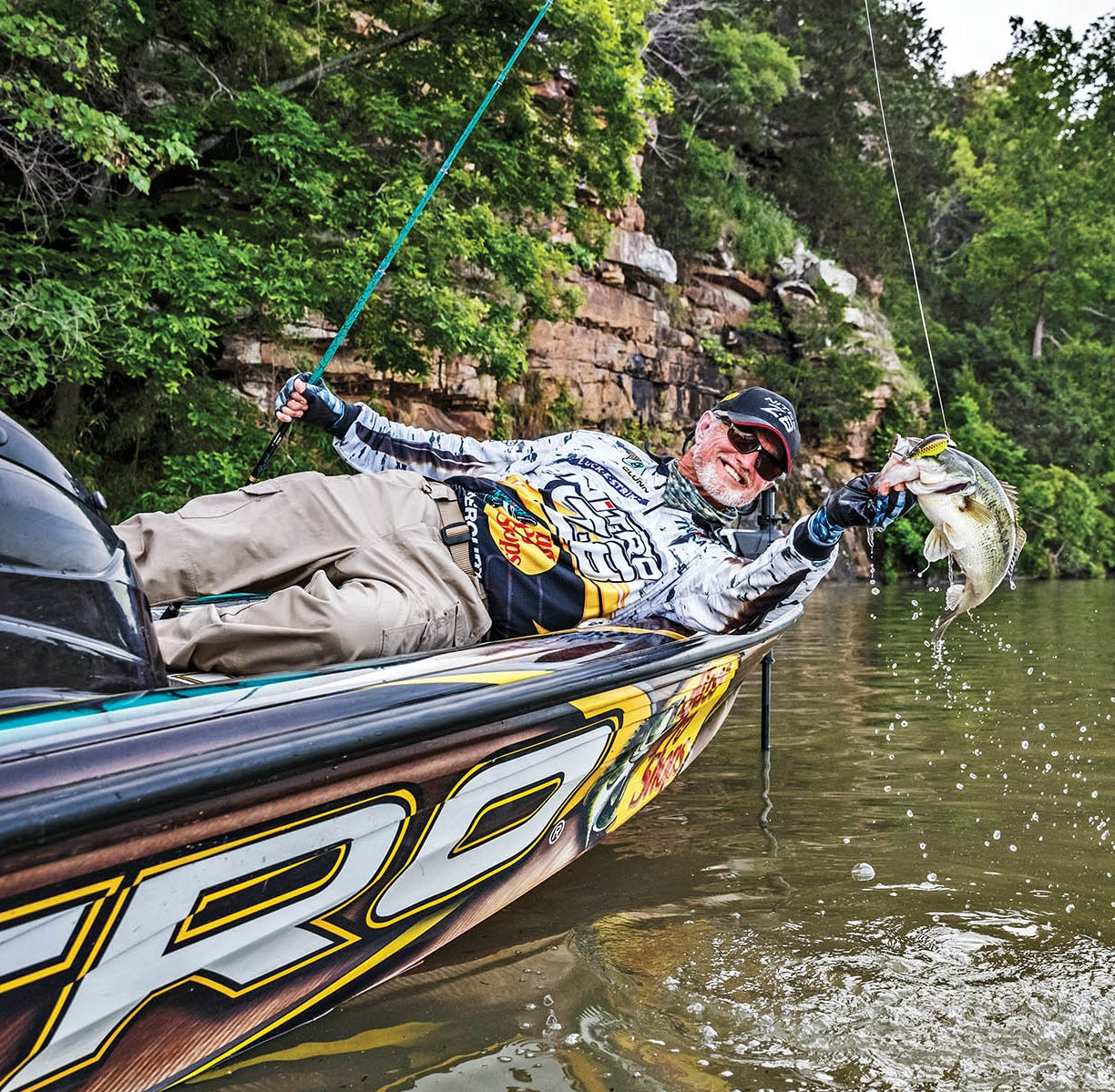 $100,000 win puts Ava bass angler over $2.5 million career mark
