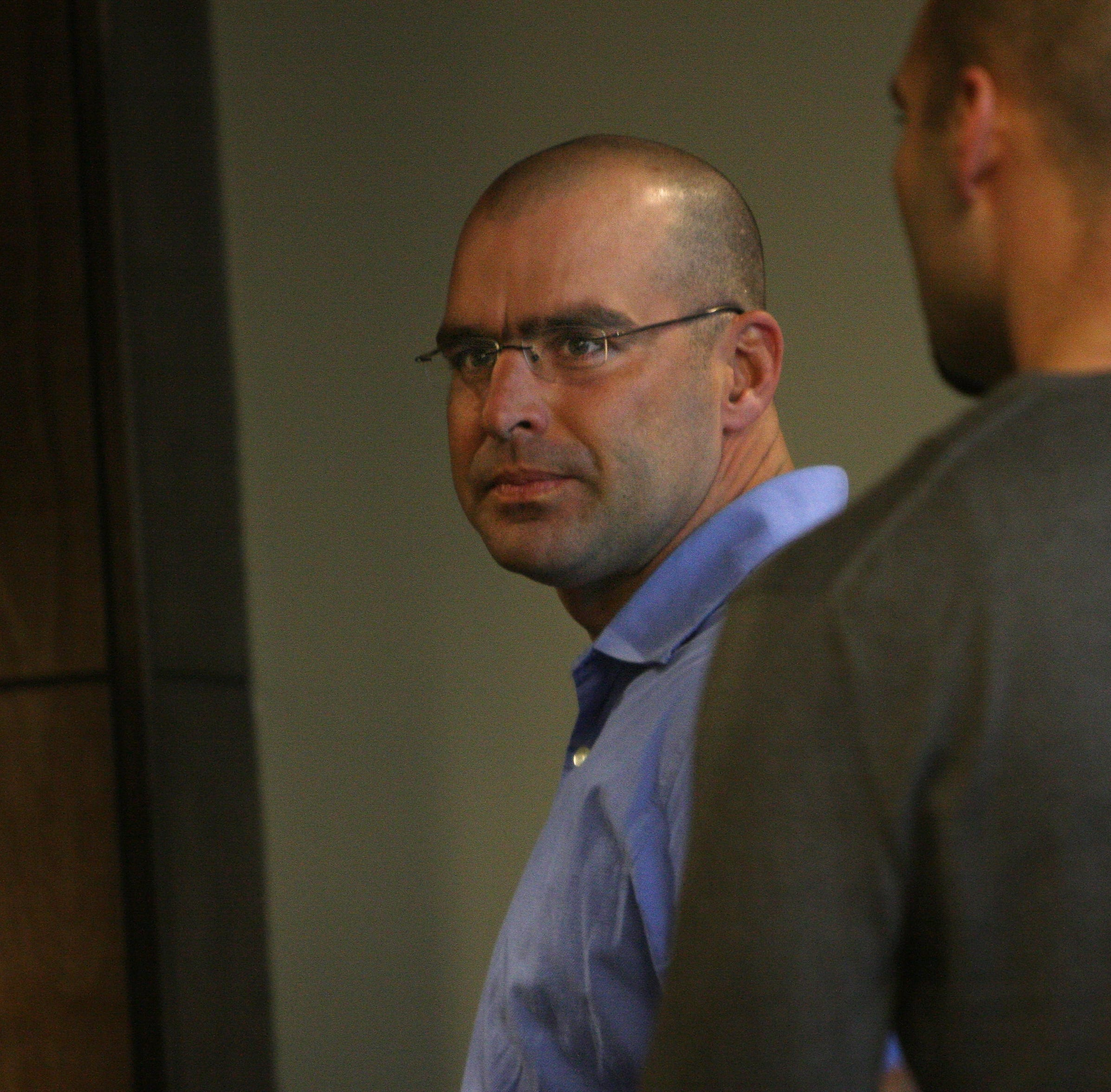 Peter Newman at a 2009 court appearance.