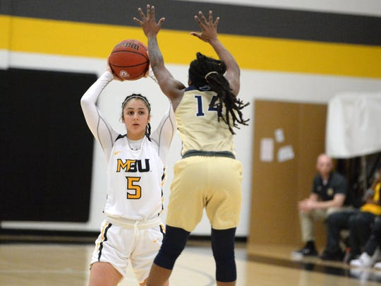 Mary Baldwin's Demet Saygili will get some more time at the two guard after playing the point last season as a freshman.