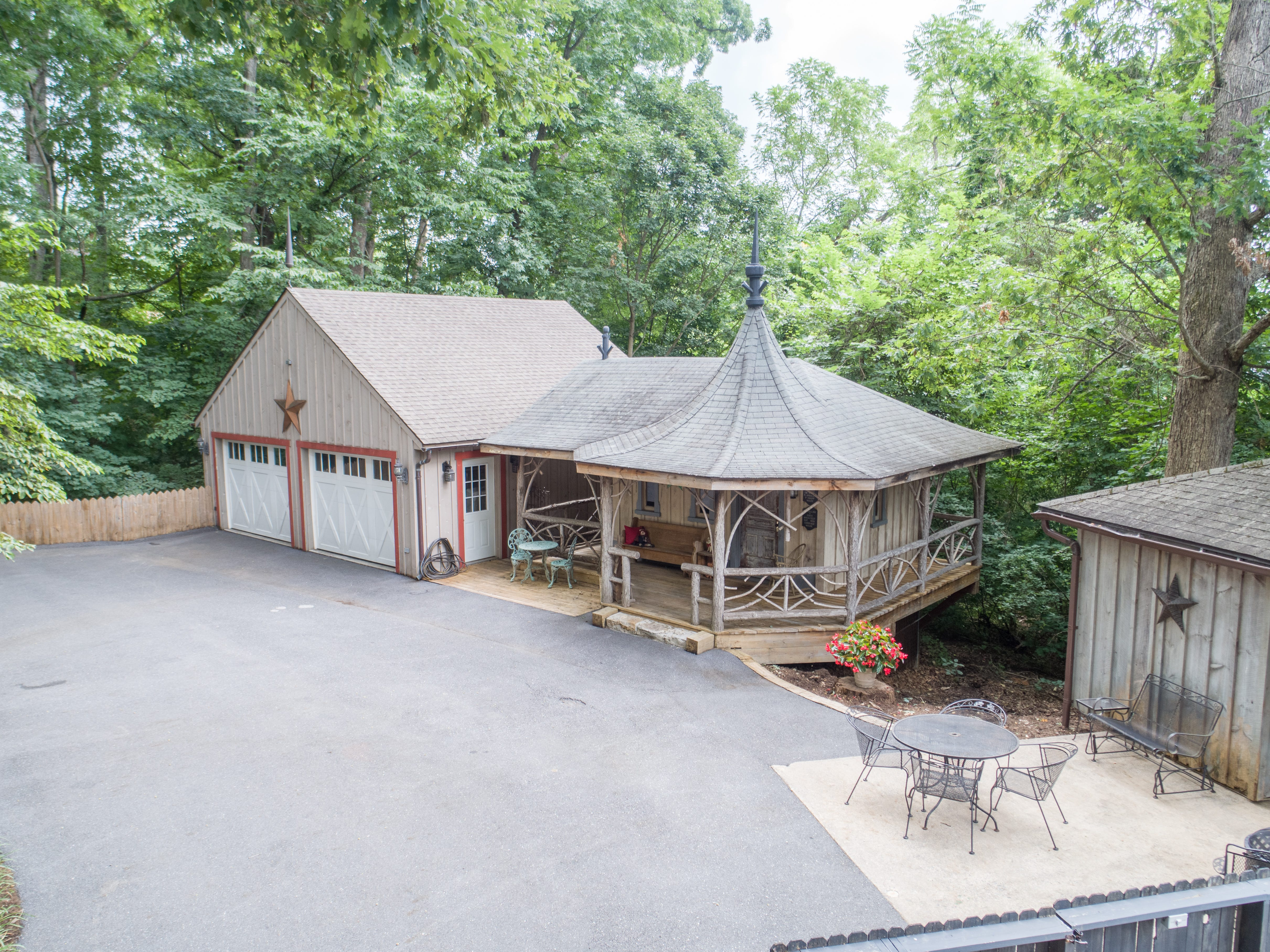 This four bedroom, four bathroom home in Staunton's Baldwin Acres was custom-built by Simon Knopp in 1966. With a grand entry and an enclosed copper porch, this home is the definition of sophistication. It is listed for $460,000 and located on Windemere Drive.