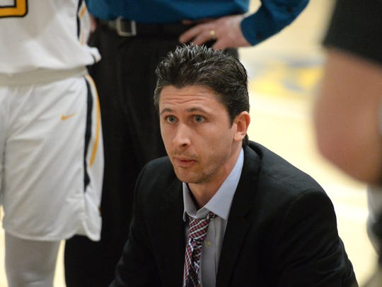 Mary Baldwin basketball coach Ross James was named USA South Athletic Conference coach of the year.