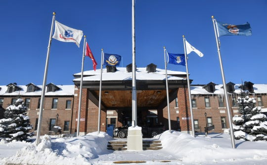 The St. Cloud VA Health Care System main building is pictured Thursday, Feb. 14, in St. Cloud.
