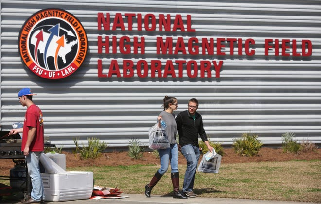 The National High Magnetic Field Laboratory at FSU.