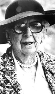 Marjory Stoneman Douglas was a journalist and environmentalist focused on protecting the Everglades.