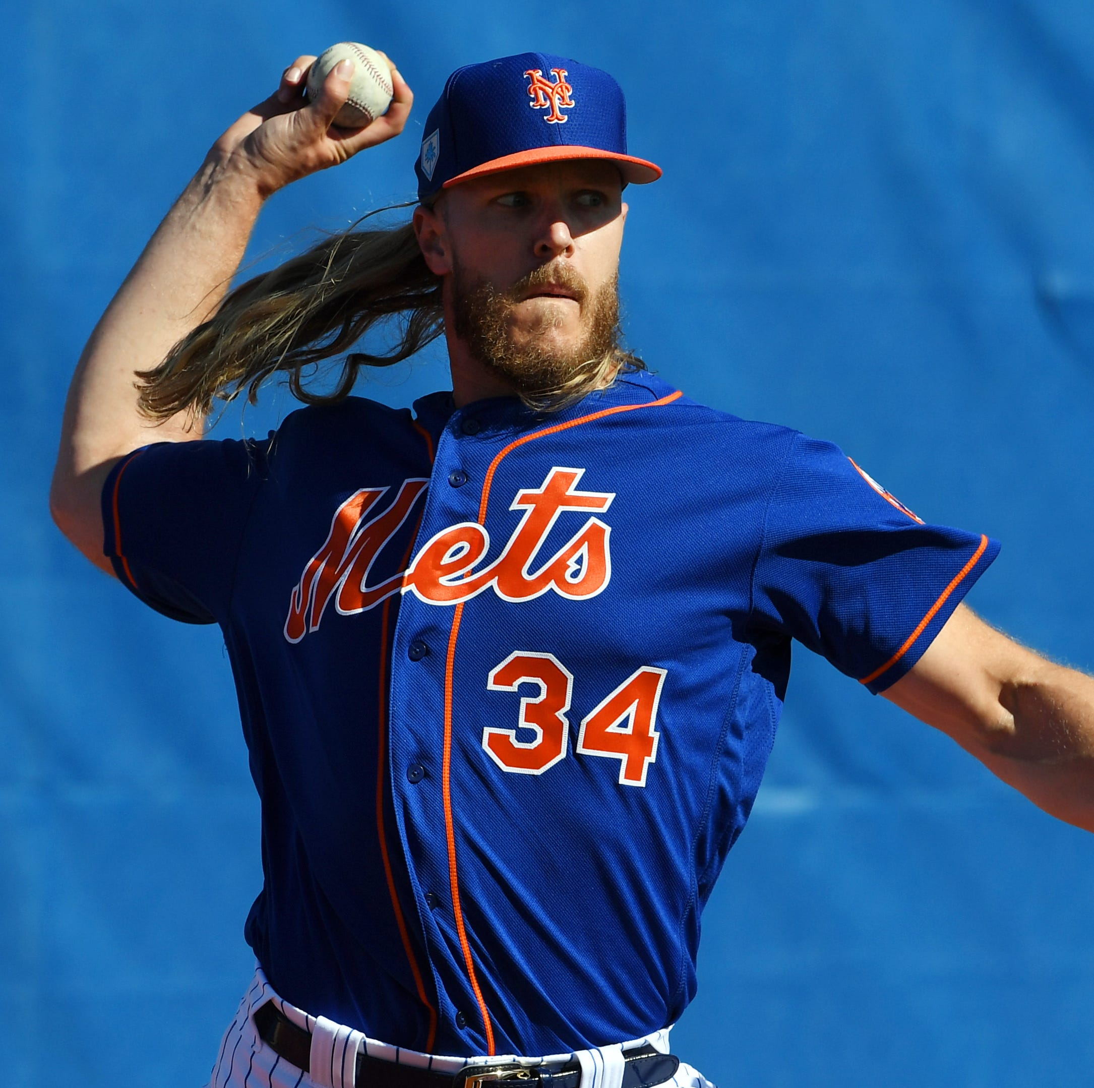Thor vs. Goliath: Noah Syndergaard, fellow Mets pitchers enjoy day fishing for sharks, groupers