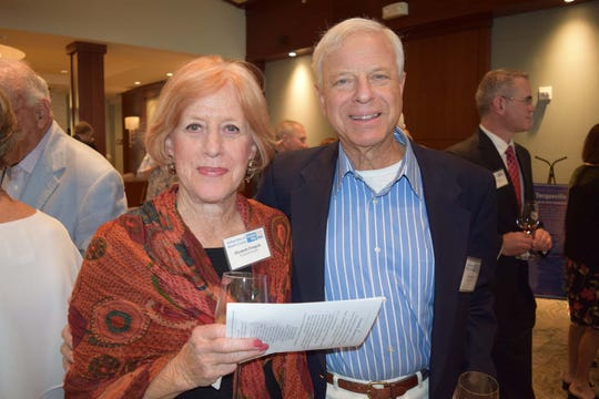 Elizabeth and Alan Finegold at the United Way of Martin County Tocqueville Society reception at Sailfish Point.