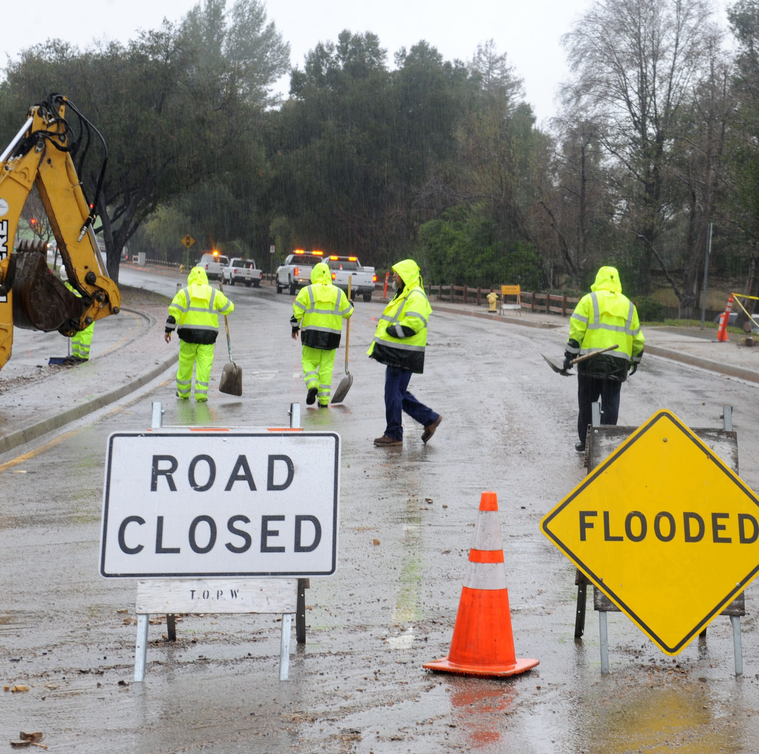 Authorities issue flash-flood watch as storm rolls through Ventura County