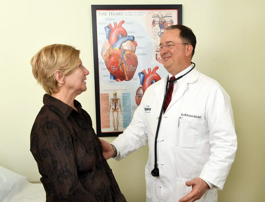Kurt W. Kaulback, MD, interventional cardiologist and clinical director of Cardiovascular Services at Inspira Health
