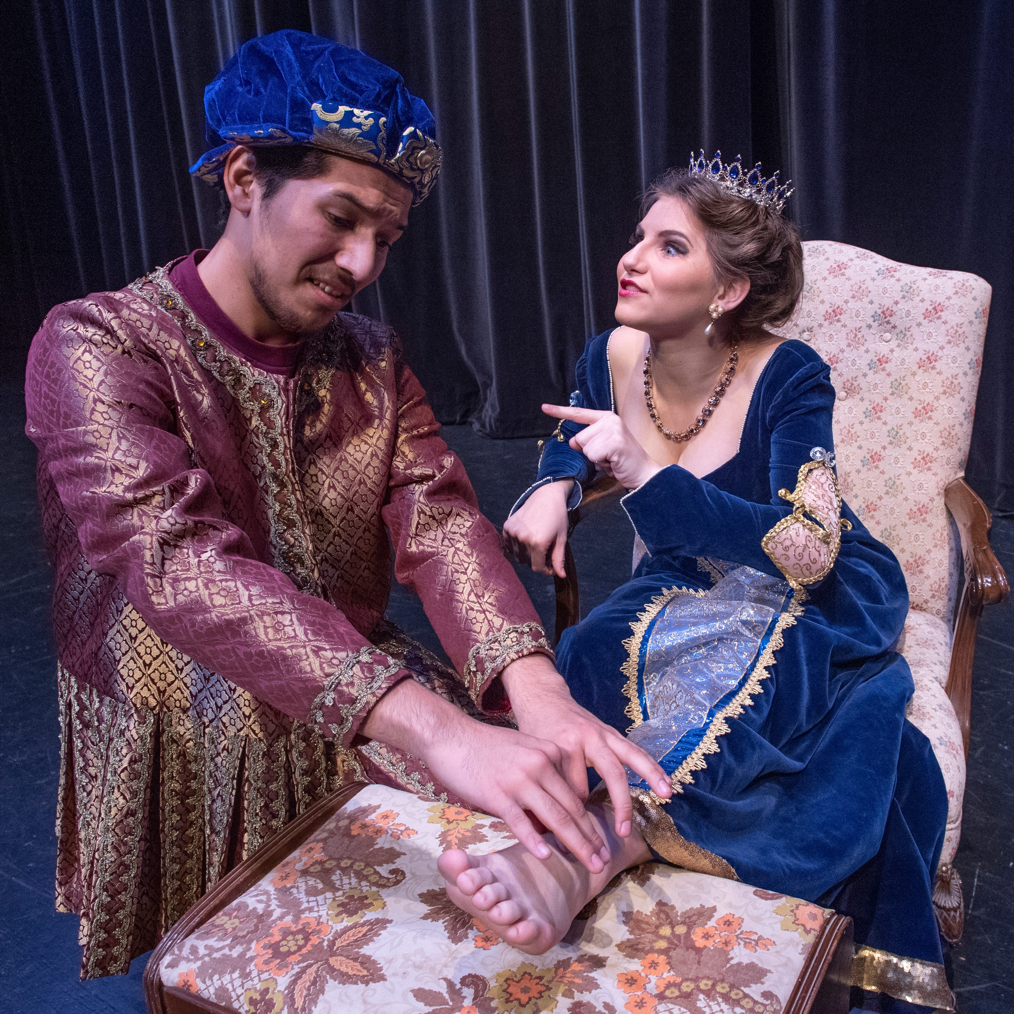 Redwood High School puts on comedy classic 'Once Upon A Mattress'