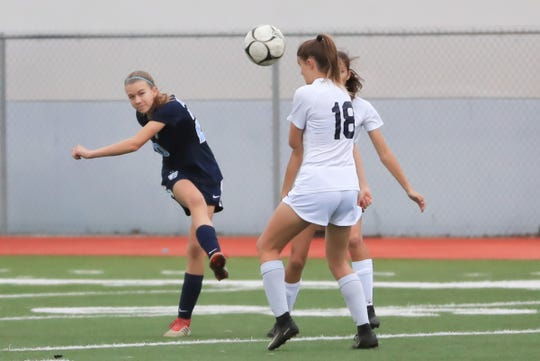 Redwood High School hosts Arroyo Grande in a Central Section Division I High School girls soccer playoff game on Feb 13th 2019.