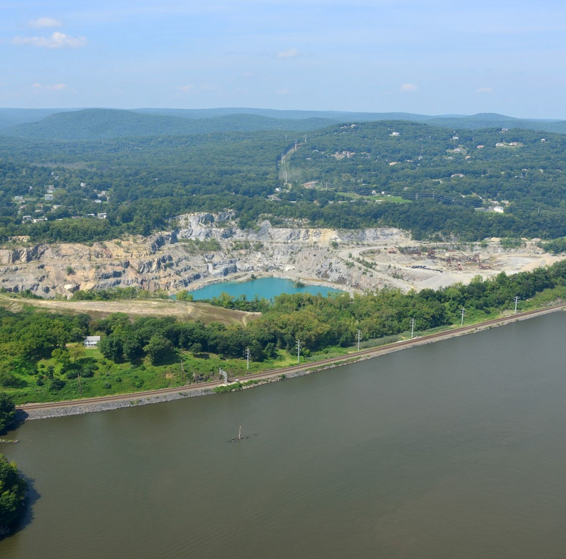 Stony Point: Reclamation project wants to turn quarry into green space
