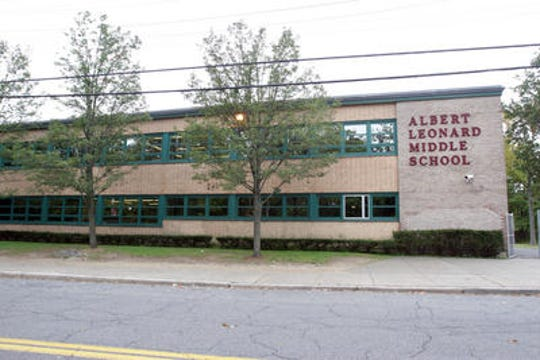 Albert Leonard Middle School in New Rochelle.