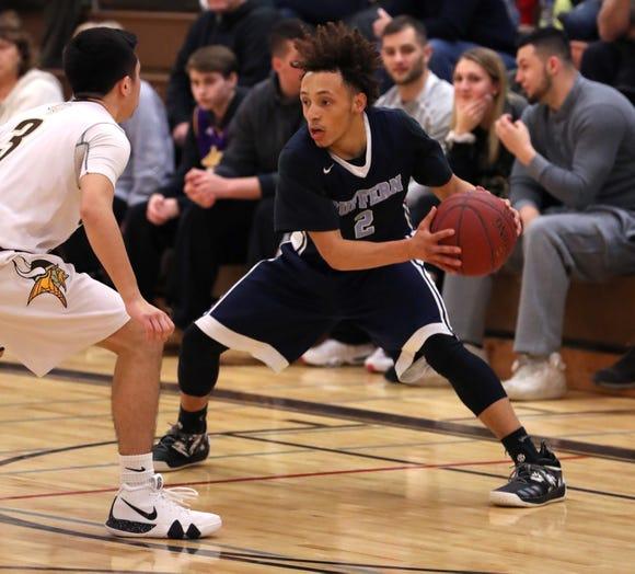 Suffern basketball won 46-20 at Clarkstown South Feb.13, 2019. .
