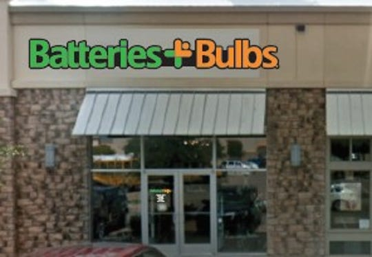 A mock-up of possible signage at the new Batteries + Bulbs, set to be located at suite 530 in the Quail Creek Shopping Center off Lawrence Road.