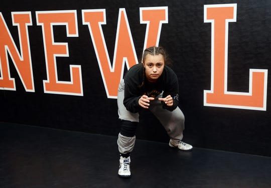 New Lexington senior Leilah Castro Castro has garnered numerous achievements throughout her wrestling career. In addition to her most recent award - the inaugural Toccara Montgomery Most Outstanding Wrestler Award from the Ohio High School Wrestling Coaches Association - she has won the national championship in 2018 and was a member of the 2018 World Team.