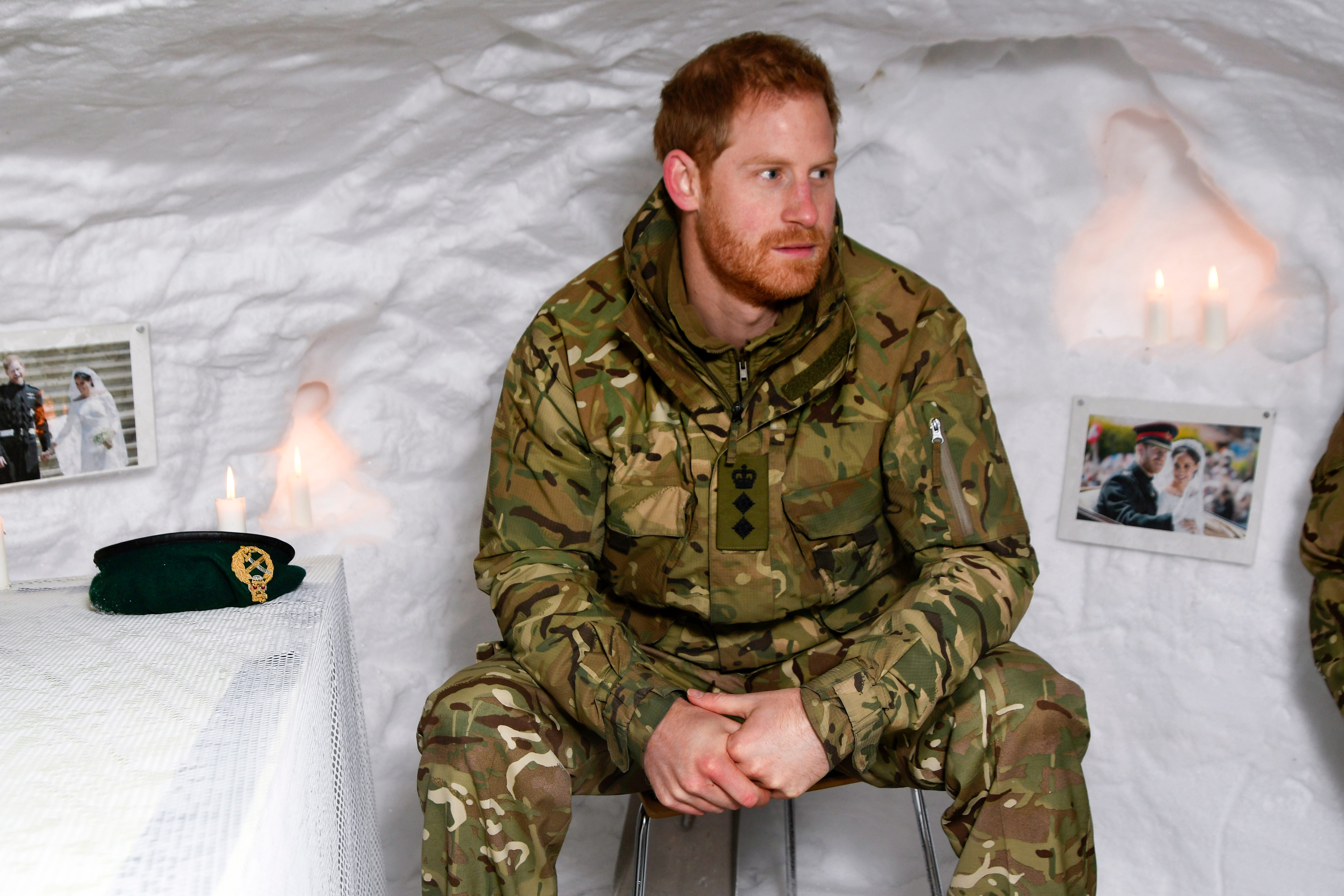 Prince Harry spent Valentine's Day away from Meghan but he still kept her close