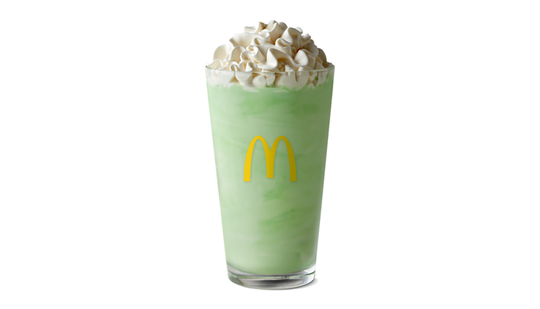 McDonald's Shamrock Shake is back for a limited time at participating locations.