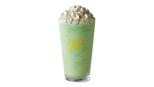 McDonald's Shamrock Shake returns Wednesday along with a new Oreo Shamrock McFlurry