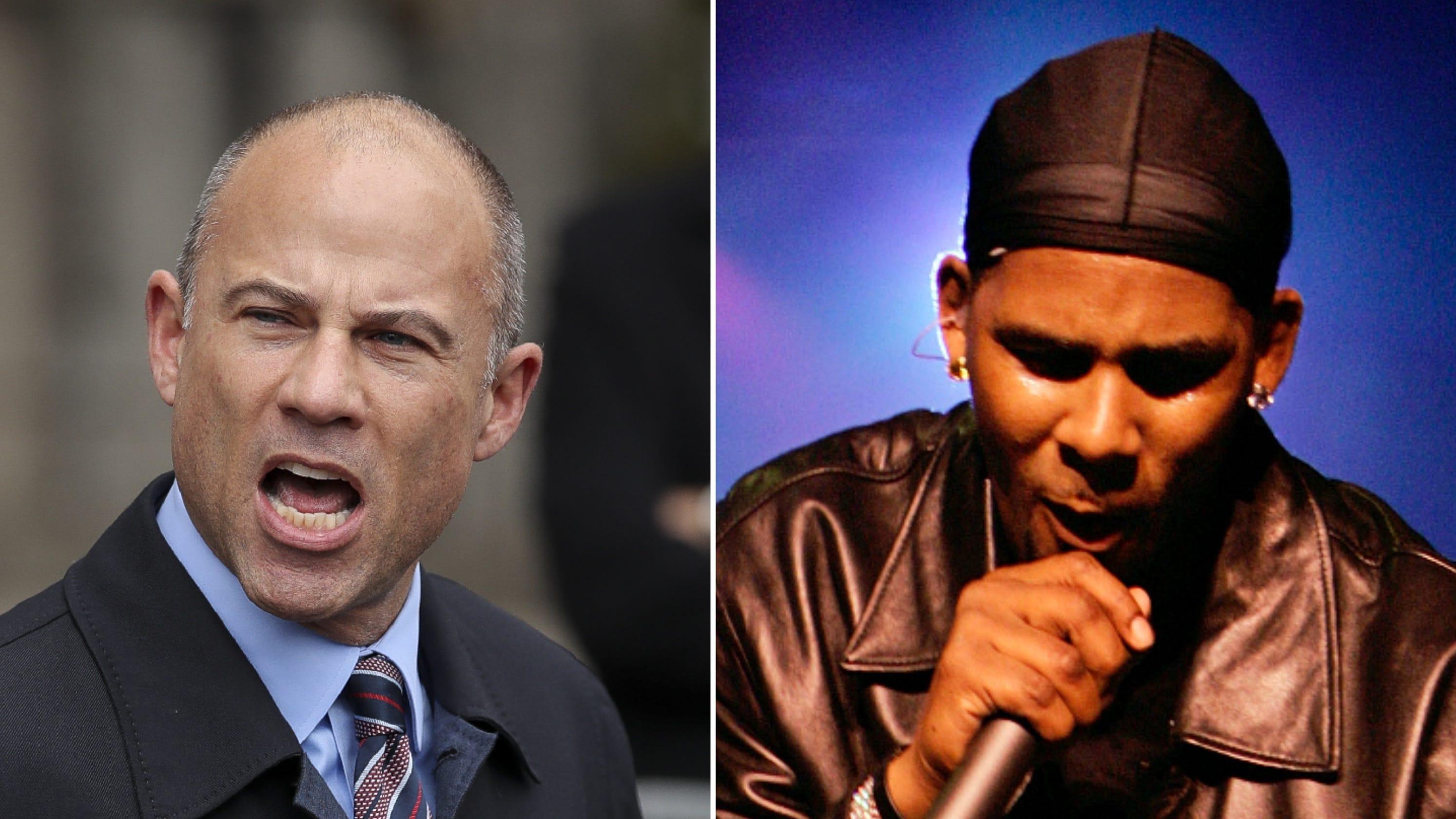 R  Kelly: Michael Avenatti claims new sex tape, says trial