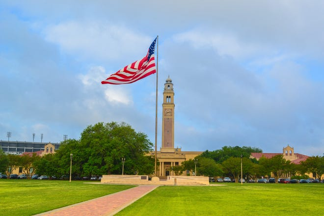 LSU Louisiana State University in Baton Rouge Louisiana LA.
