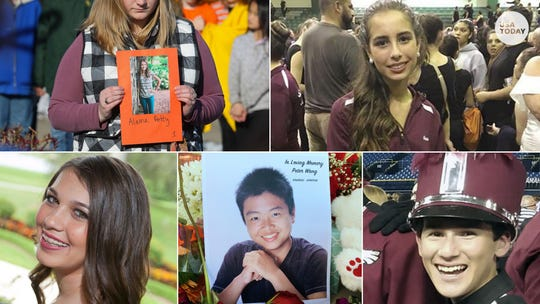 Remembering the Parkland school shooting victims.