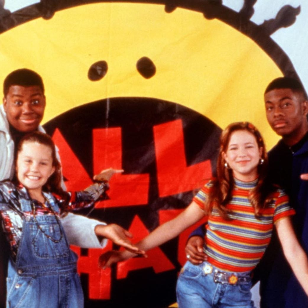 "Nickelodeon is reviving ""All That,"" with former cast member Kenan Thompson (pictured on the left) as executive producer. The show will have an all-new cast."