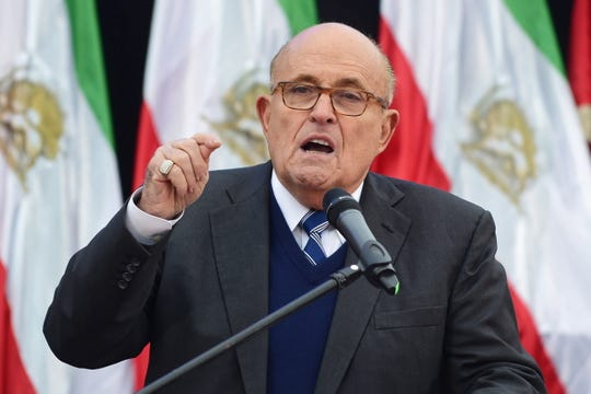 Westlake Legal Group 61a4975f-aaad-42e8-83bc-d9ff74e7f8a9-EPA_POLAND_MIDDLE_EAST_CONFERENCE Trump-Ukraine scandal puts spotlight on Rudy Giuliani's business ties. Is he a 'foreign agent'?