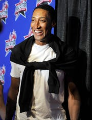 Former NBA player Scottie Pippen, shown here in 2013, has frequently chimed in on the LeBron vs. MJ debate.