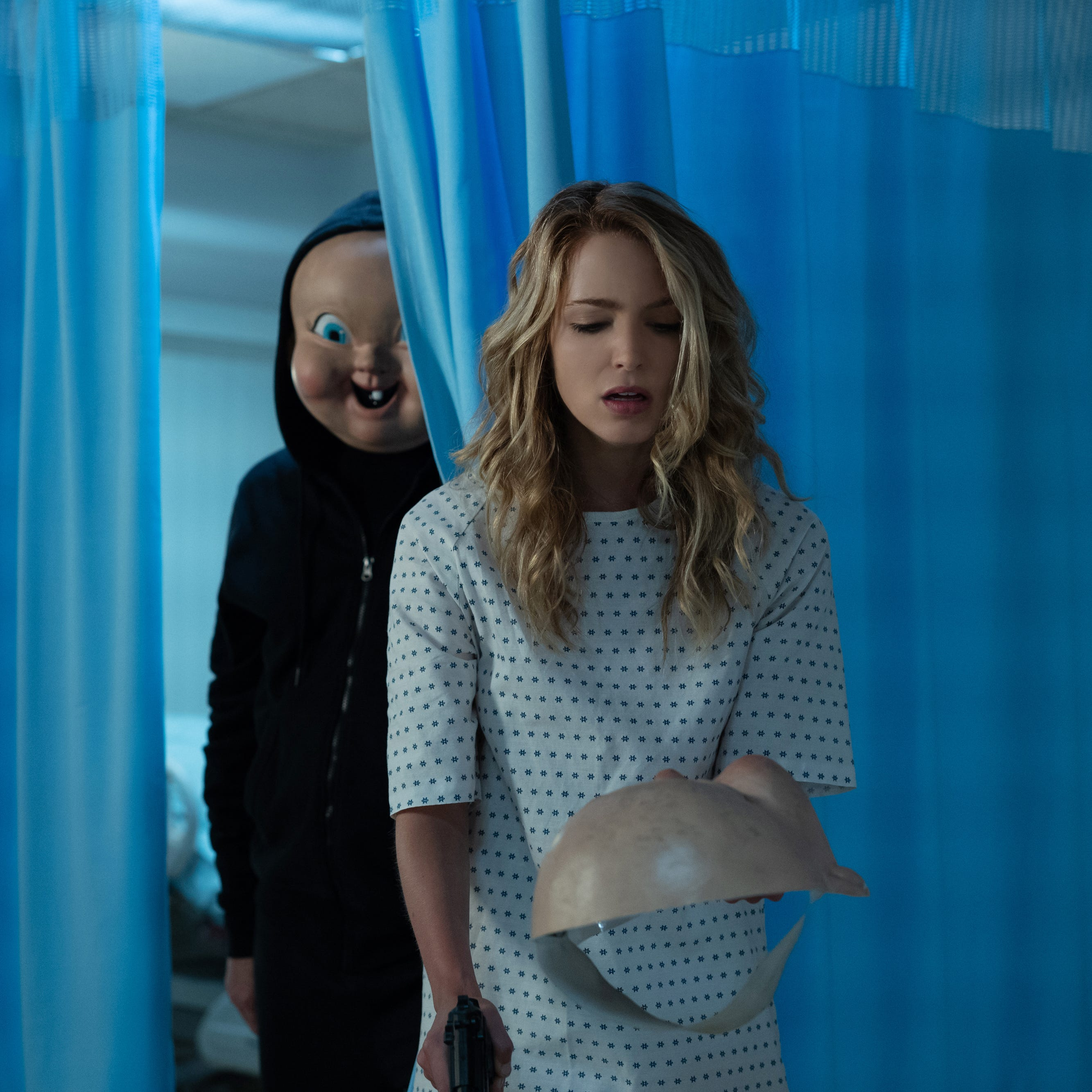 """Happy Death Day 2"" finds Tree (Jessica Rothe) dealing with the baby mask killer yet again but a threequel may put someone else in the hot seat."