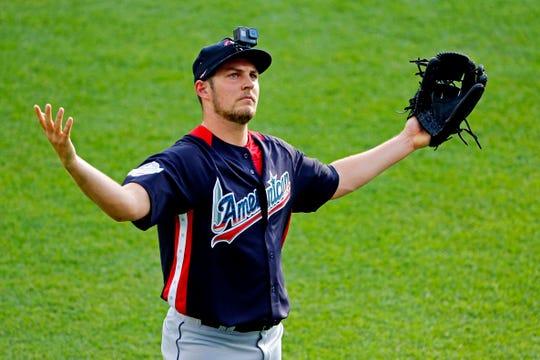 Bauer, 28, has a 3.94 career ERA.