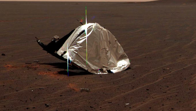footage of mars landing today - photo #11