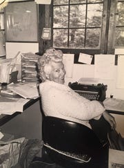 "This 1980 photo provided by Kathy Ballantine shows her grandmother Betty Ballantine. Betty Ballantine, half of a groundbreaking husband-and-wife publishing team that helped invent the modern paperback and vastly expand the market for science fiction and other genres through such blockbusters as ""The Hobbit"" and ""Fahrenheit 451,"" died Tuesday, Feb. 12, 2019, at her home in Bearsville, N.Y. She was 99."