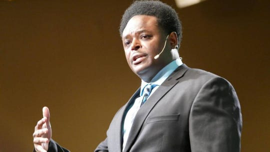 Derwin L. Gray, pastor of Transformation Church, said his congregation is making a large donation to a pro-life center.