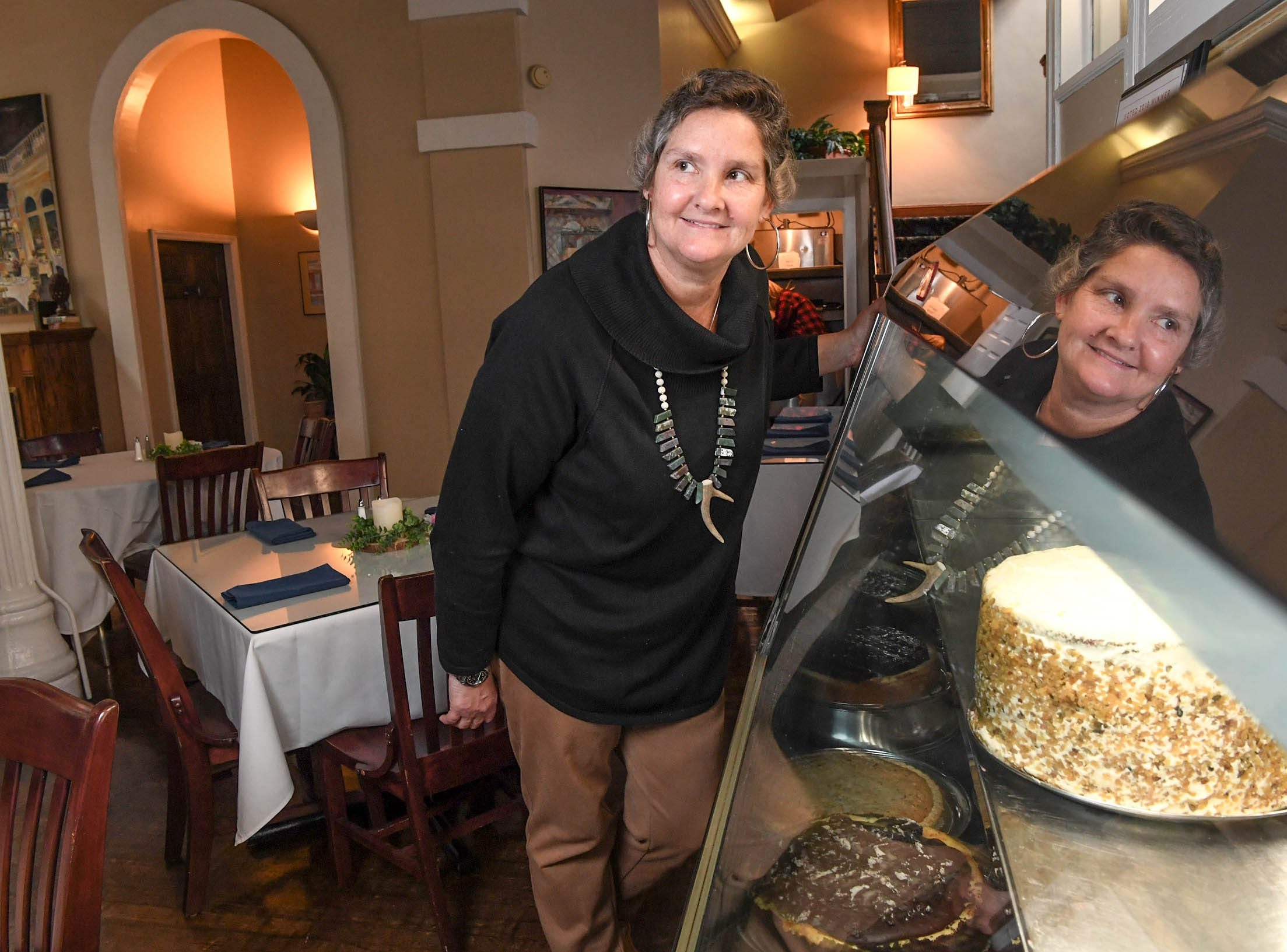 Sabra Nickas, co-owner of Sullivan's Metropolitan Grill, makes cheesecakes and cakes for the restaurant. The restaurant reached its 20th anniversary.