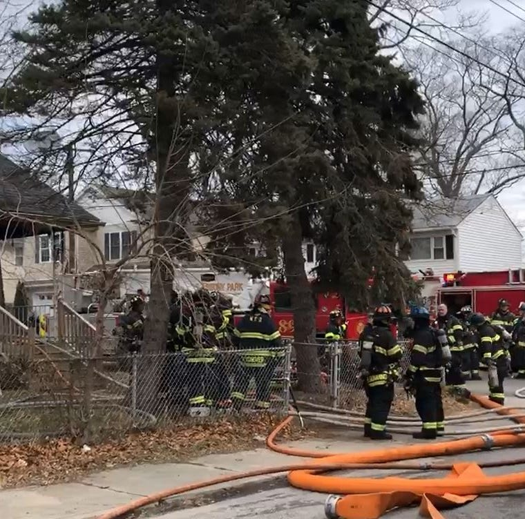 Neptune fire destroys Myrtle Avenue home