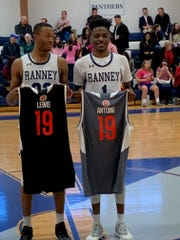 Ranney's Scottie Lewis and Bryan Antoine were honored for their selection to next month's McDonald's All-American Game on Thursday evening