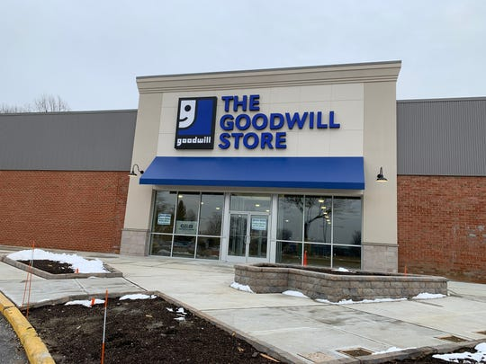 The Goodwill Store on Route 36 in Middletown is expected to open in March.